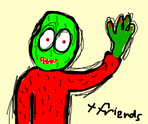salad fingers and friends
