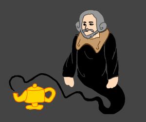 Shakespeare, Reincarnated as a Genie