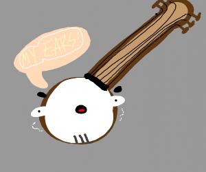 Banjo lost his ears