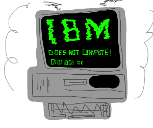 ibm is blowing up
