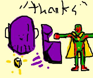 thanos thanks vision