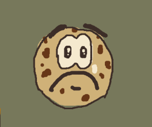 the saddest cookie in the world
