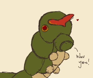 Caterpie Wuvs You
