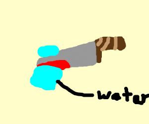 Slicing water