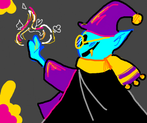jevil but in ralsei's role