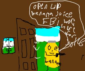 FBI open up but as banana juices