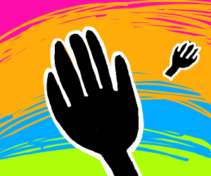 hands on rainbows