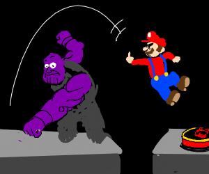 Thanos vs Mario