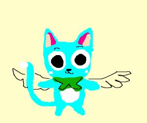 happy (from fairy tail[google it chump])