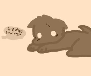 blind doggo