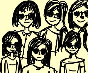 Six-Member Girl Group