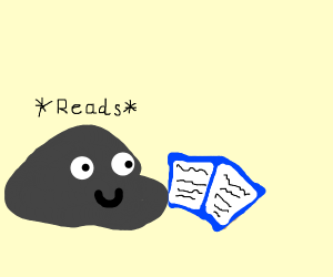 rock read a book