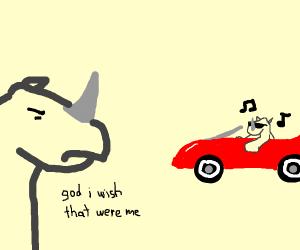 Jealous Rhinoceros