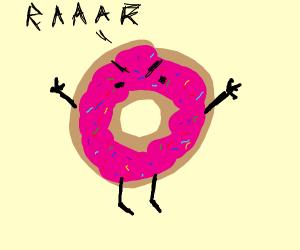 Doughnut Monster