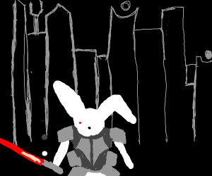 Laser bunny