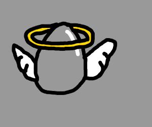 Holy egg rises
