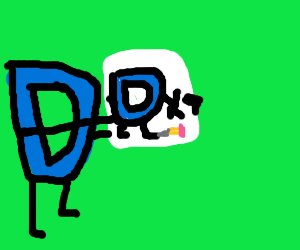 drawception D drawing drawception D