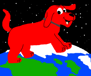 giant clifford the big red dog