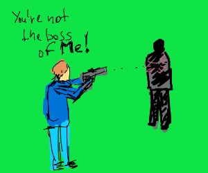 Man shoots his boss in the back