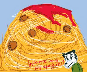 da giand pile ofs da spaghet