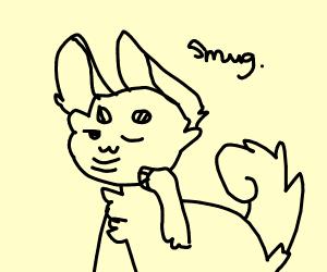 Smug doggo