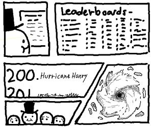 No 200. Hurricane Herry.