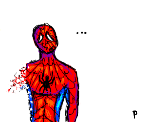 Spider-man doesn't feel so good