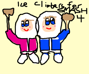 ice climbers for smash 4 !