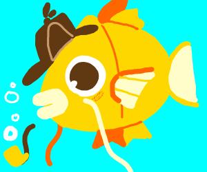 sherlock holmes turned into a goldfish
