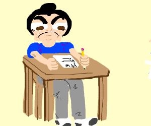 I hate to do homework
