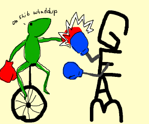 Some meme fighting gaem