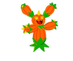 Maractus but pumpkins