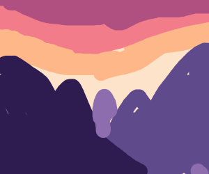 sunset cliffs (now i can die in pastel)