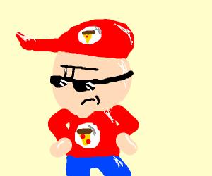 Epic pizza guy