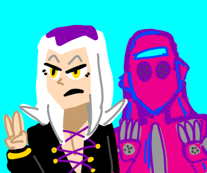 Abbacchio and Moody Blues (jojo)