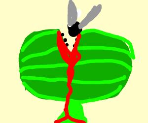Watermelon Venus fly trap