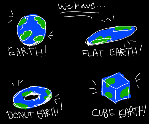 All versions of earth