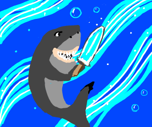 Shark had acquired the Diamond SwordOfDestiny