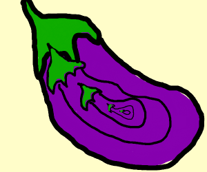 eggplant-ception
