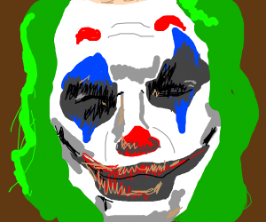 Joker on the front page