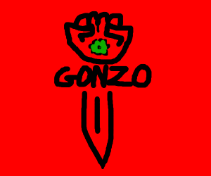 Gonzo the mighty sword