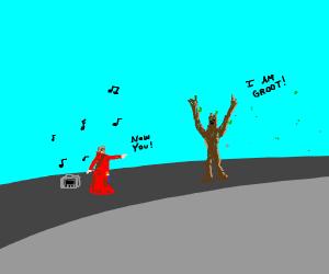 Dance off Vs. Groot