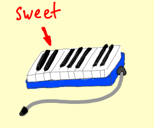 A sweet melodica