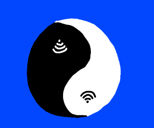 The Yin Yang of the Internet