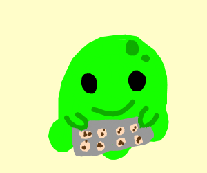 Slime with a batch
