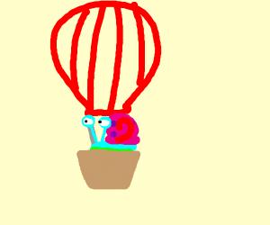 Gary takes a Hot Air Balloon ride