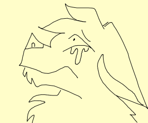 furry crying