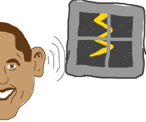 Obama hearing lightning