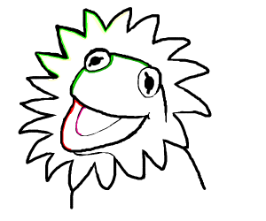 Kermit the lion