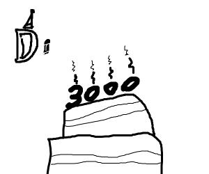 Drawception celebrates 3000th draw!
